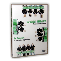 Green Beats  – In Concert: A Percussive Experience DVD