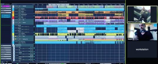 Webmeeting: Musikproduktion übers Internet mit Zoom